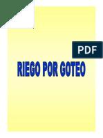 DiseñoAgronómicoGoteo