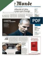 Monde 2 en 1 Du Mardi 12 Mai 2015
