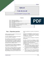 Code Du Travail Djibouti