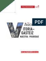 Programa Ayuntamiento Vitoria Gasteiz Peio Lopez de Munain