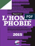 """Homophobie. Baisse des violences mais """"la haine persiste"""""""