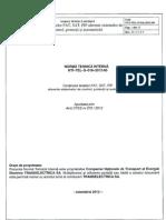 Norma tehnica pentru FAT SAT si PIF