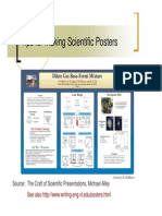 Tips for Making a Scientific Poster