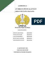 Bab 14 Audit Siklus Penjualan Dan Penagihan Piutang