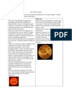 solar system research filp book
