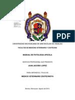 MANUAL DE PATOLOGIA APICOLA