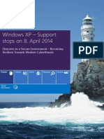 Windows XP – Support Stops on 8 April 2014