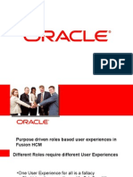 Roles Based User Experiences in Fusion HCM