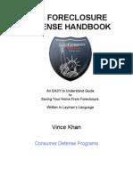 Foreclosure Defense Handbook