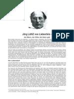 Jörg Lanz Von Liebenfells