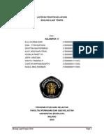 Laporan Praktikum Ekologi Laut Tropis 2014