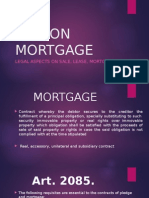 Law on Mortgage