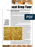 Commodities - US Wheat Crop Tour