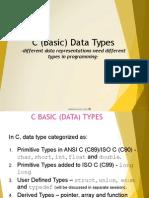 c Programming Data Type