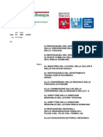 Nota Interregionale n 41 Del 27-11-2009