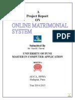 Online Matromonial System.docx