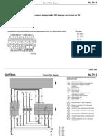 Radio Navigation System MFD CD Changer and TV Tuner Wiring