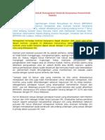 Renegosiasi Kontrak Kerjasama Pemerintah Swasta