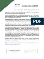 Adrian Ashton Social Impact Report 2014-5