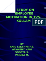 A STUDY ON Motivation