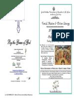 2015 - 31 May - Pentecost Hymns & Prayers