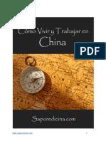 Vivir y Trabajar en China