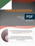 Politici economice ,