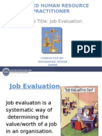 CHRP Job Evaluation