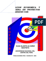 evaluacion economica y financiera en proyectos de inversion -elsa-alvarez