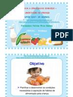 Powerpoint UFCD3247 AlimentaçaoDaCriança