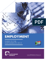 Employment Guide to the Amendments 2014