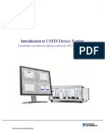 Introduction to UMTS Device Testing
