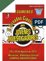 II Jornadas Científicas para Jóvenes Investigadores - Resúmenes