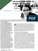 Ana de Miguel - El Feminismo Como Referencia de Legitimidad Para Las Mujeres