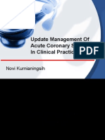 Update Management of Acute Coronary Syndrome in Clinical
