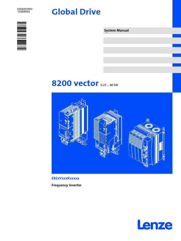 Lenze 8200 Vector Wiring Diagram Just Diagrams Vfd E82ev 0 25 90kw V3 En Electrostatic Discharge Inverter