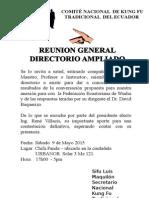Reunion Oficial Kung Fu Ecuador