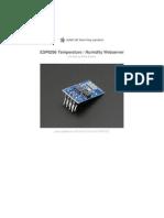 Esp8266 Temperature Slash Humidity Webserver