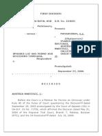 Sps. Batal vs. Sps. San Pedro, 2006 - Culpa Contractual