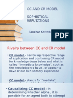 CC and CR model