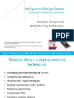 Mbed Course Notes - Modular Design