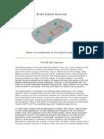 Brake System Overview