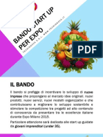 Bando Start Up Per Expo