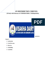 Visakha dairy Project