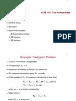 Kalman Estimation