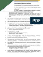 boiler prolonged shutdown checklist- 2