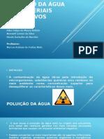 Poluição Da Água Por Materiais Radioativos