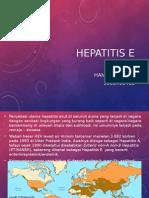 Hepatitis E (HEV)