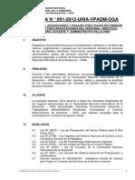Directiva Viaticos Unia 2012