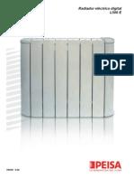 Manual Radiador Electrico Digital